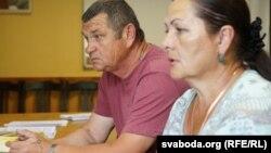 Іван і Ганна Раманавы, бацькі Кірылы Раманава, які загінуў на аўрале перад прыездам Аляксандра Лукашэнкі
