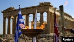 Tradicionalno paljenje olimpijske baklje u Grčkoj, 16. maj 2012. ilustrativna fotografija
