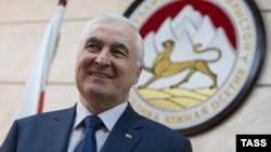 Leonid Tibilov, the separatist leader of South Ossetia.