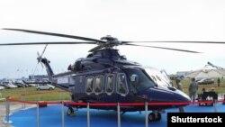 Верталёт AgustaWestland AW139. Ілюстрацыйнае фота