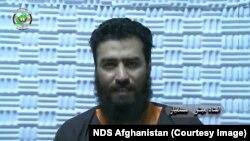 مبشر مسلمیار استاد پوهنتون کابل که اخیراً به اتهام عضویت در گروه داعش از سوی امنیت ملی افغانستان بازداشت شد.
