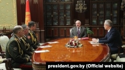 Belarus prezidenti Alyaksandr Lukashenka 20 Yanvar , 2020