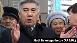 Жармахан Тұяқбай, ЖСДП партиясының төрағасы. Алматы, 17 желтоқсан 2010 жыл