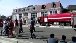 Сӯхтор дар бинои як соҳибкори эронӣ дар Душанбе
