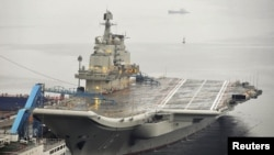 """China acquired its first aircraft carrier, the """"Liaoning,"""" from Ukraine in 1998."""