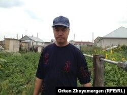 Құдамбай Есбердинов. Ақмола облысы Қоянды ауылы, 6 тамыз 2013 жыл.