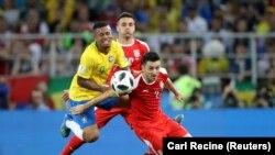 Бозии Бразилия ва Сербистон дар рӯзи 27-уми июн дар майдони Спартаки Маскав.