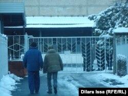 Ворота пивного завода в Шымкенте. 30 января 2016 года.