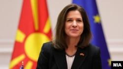 Американската амбасадорка во Скопје, Кејт Мери Брнз