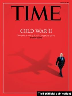 Одна з цьогорічних обкладинок журналу TIME після збиття над Донбасом малайзійського «Боїнга»