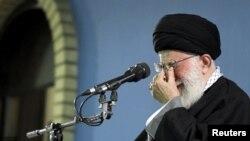 Верховний лідер Ірану аятола Алі Хаменеї виступає на державному телебаченні у понеділок
