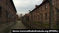 Колишній концтабір «Аушвіц-Біркенау». Освенцім, листопад 2014 року
