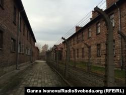Колишній концтабір «Аушвіц» (фото: листопад 2014 року)