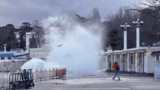 Шторм в Севастополе, январь 2021 года