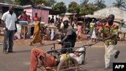 Pamje nga Republika Qendrore Afrikane