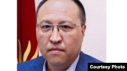 Бішкек мэрінің бірінші орынбасары Ренат Макенов.