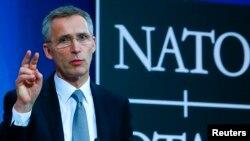 НАТО бас хатшысы Йенс Столтенберг. Брюссель, 10 ақпан 2016 жыл.