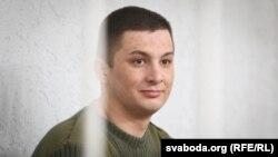 Тарас Аватаров на суді, Мінськ, 18 квітня 2016 року