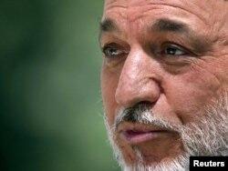 Owganystanyň prezidenti Hamid Karzaý
