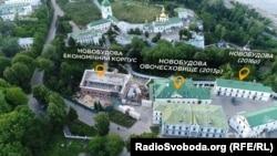 Ще три новозбудовані приміщення на території Києво-Печерської лаври