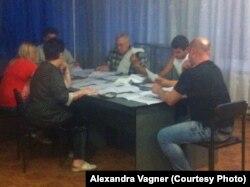 Подсчет голосов в Красноармейске