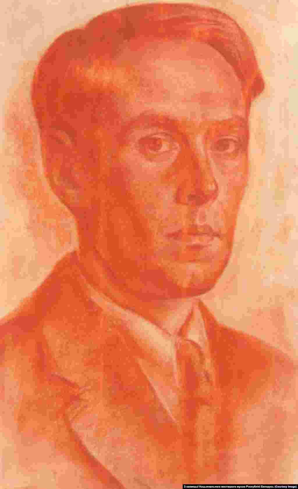 Міхась Сеўрук.Аўтапартрэт. 1941