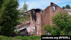 Такім Лукашэнка помнік архітэктуры ня бачыў