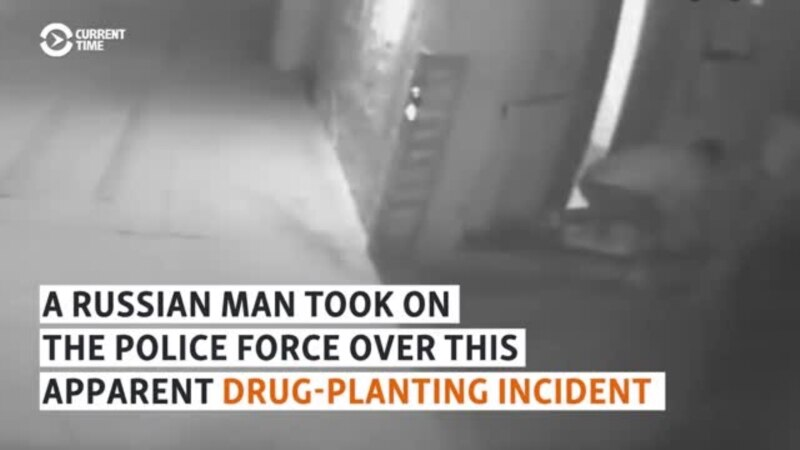 Facing Charges, Russian Man Releases Video Of Police Apparently Planting Drugs