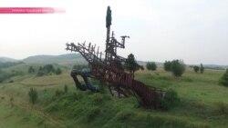 Ладонь и копыта: забытый памятник на Львовщине