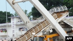 Игры Содружества начались с рухнувшего в Нью-Дели пешеходного моста