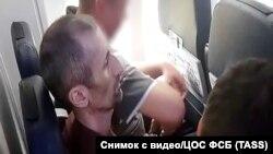 Перевозка Аслана Яндиева в Россию, 17 июля 2018 года