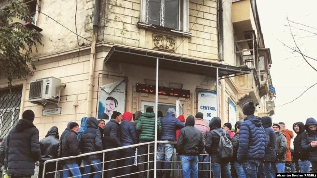La Agenția Forței de Lucru la Chișinău