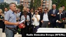 Brojni prijatelji oprostili su se od Vojke Smiljanić Đikić