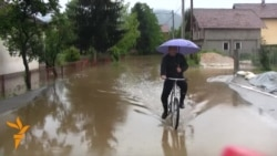 Floods Force Residents To Flee Sarajevo