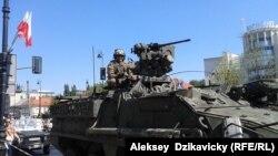 Американські військові на параді в Польщі, 15 серпня 2015 року
