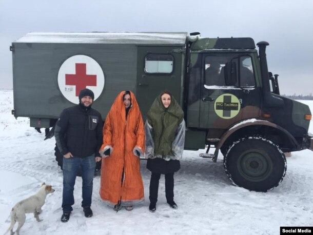 Волонтери благодійного фонду «Рятуємо життя разом»
