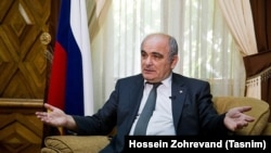 Russian Federation ambassador to Tehran, Levan Dzhagaryan. File photo