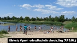 Озеро Парковое в Северодонецке