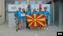 Македонски тим на 13. Јуниорска балканска олимпијада по информатика