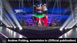 Ілюстрацыйнае фота. Беларуская сьпявачка ZENA на конкурсе Eurovision 2019