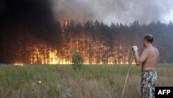 В Росси горят леса
