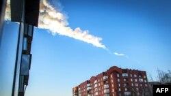Trag objekta koji je padao u Rusiji