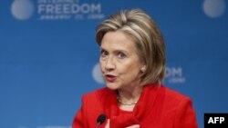 ABŞ dövlət katibi Hillari Klintonun internetdə söz azadlığının qorunmasına həsr olunmuş çıxışı, Vaşinqton, 21 yanvar 2009