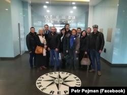 Делегація українських правоохоронців та громадських активістів у Президії поліції Чехії