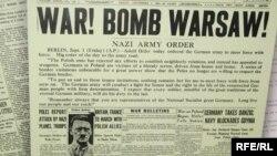 Перадавіца газэты Chicago Gerald Tribune 17 верасьня 1939