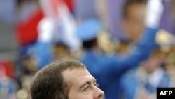 Dmitry Medvedev - primul preşedinte rus în vizită la Belgrad