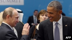 Թուրքիա - ԱՄՆ և Ռուսաստանի նախագահները Անթալիայում Մեծ քսանյակի գագաթնաժողովի ժամանակ, նոյեմբեր, 2015թ․
