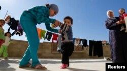 Сирійські біженці в Лівані: у хлопчика підозра на поліомієліт, фото 28 жовтня 2013 року