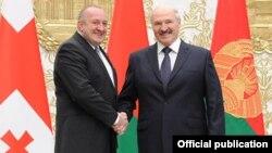 Վրաստանի և Բելառուսի նախագահների հանդիպումը Մինսկում, 1-ը մարտի, 2017թ.