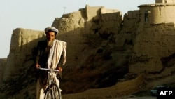 The ancient but now somewhat dilapidated city of Ghazni used to be a major center of Islamic culture.
